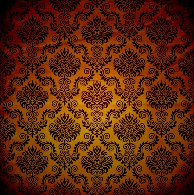 欧式花纹墙纸图片素材免费下载-千图网www.58pic.com图片