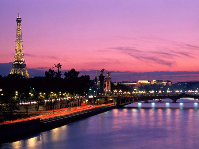 法国 夜景