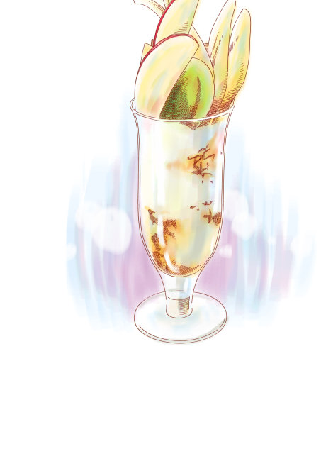 手绘冰淇淋eps 4