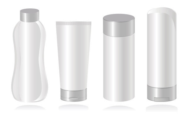 化妆品容器白瓶