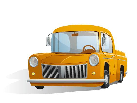 卡通 可爱 玩具 汽车 插画 矢量素材