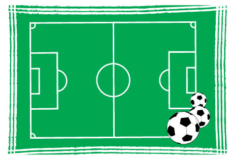 足球场平面图
