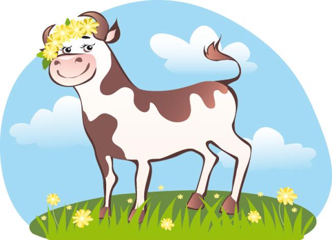 动物牛图案
