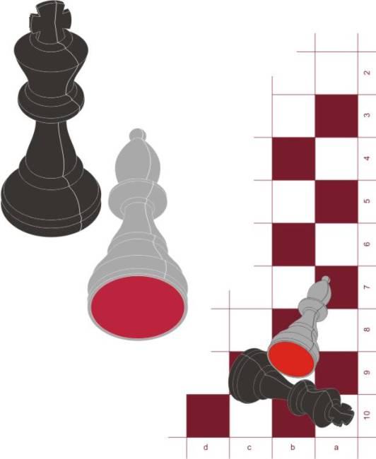 矢量素材国际象棋棋子