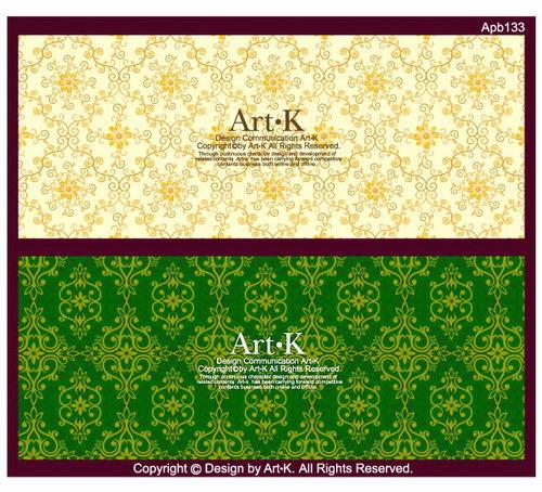 矢量古典欧式墙纸图案矢量图免费下载-千图网www.58.图片