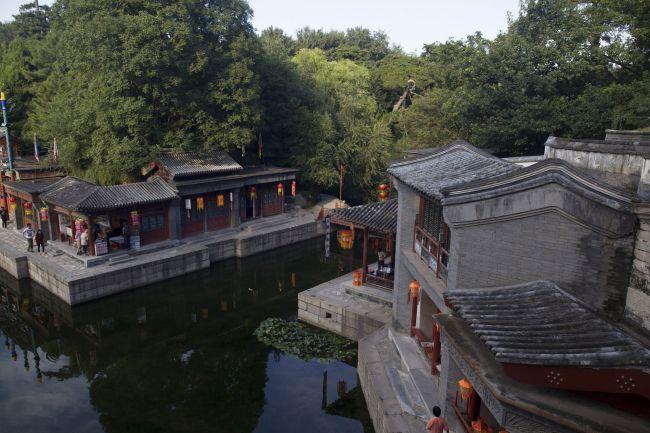 矢量手绘逛街女孩图片 已下载 45次 巨幅风景中国园林文化北京颐和园