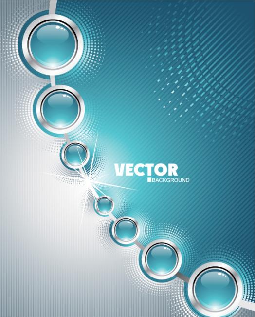 首页 最新素材 矢量图 广告设计 矢量立体圆形科技感素材背景