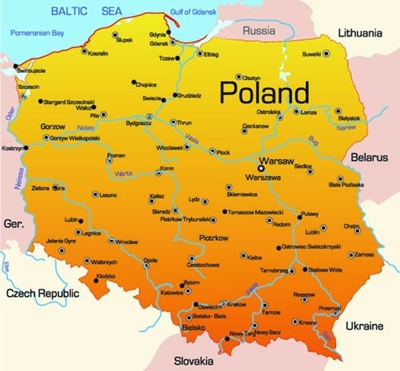 西欧地理地图矢量素材