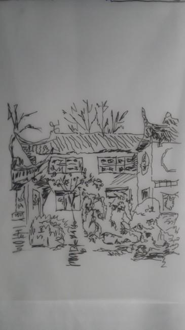 明瑟楼手绘图