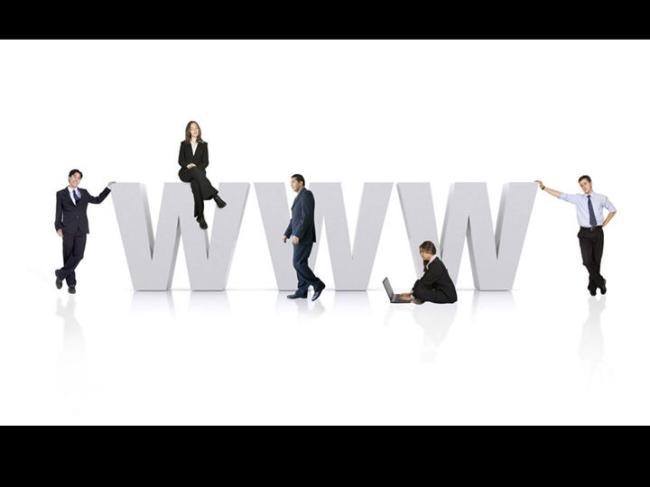 www商务人物ppt模板