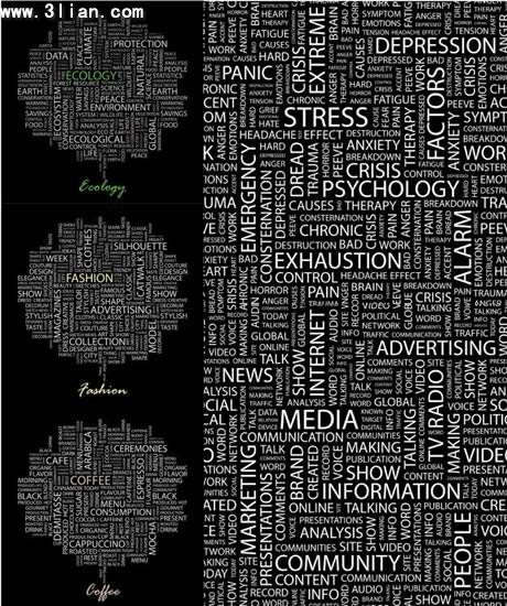 黑体英文字母图片