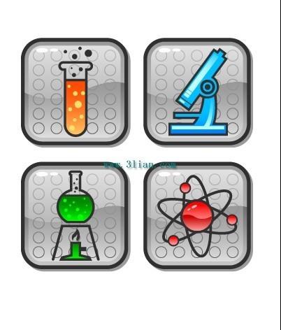 化学仪器图标
