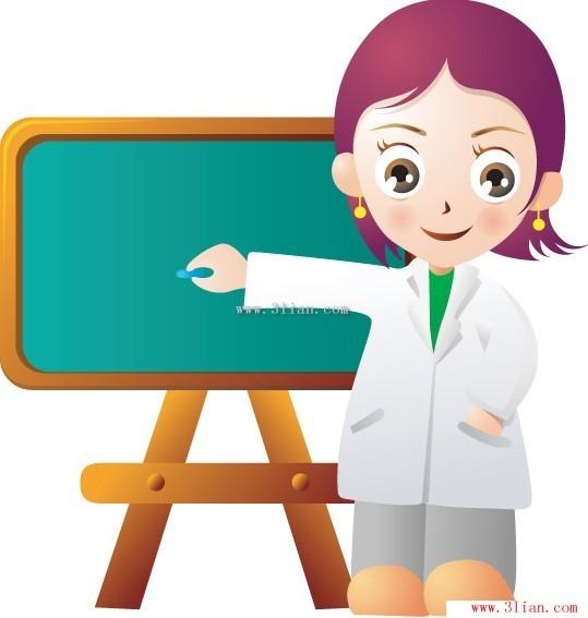 卡通人物-女教师节日素材免费下载-千图网www.58pic.
