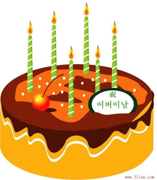 生日蛋糕蜡烛