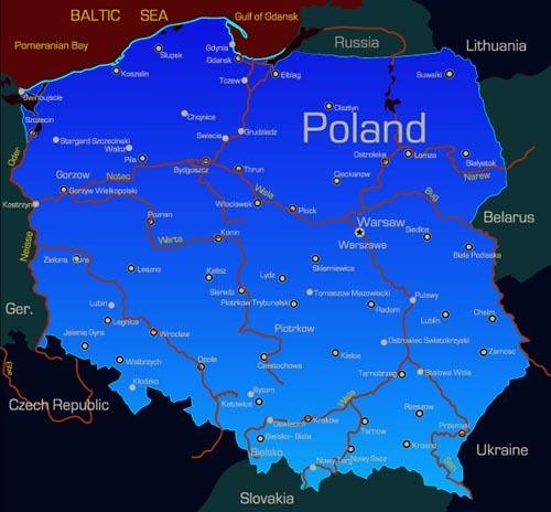 西欧地理地图