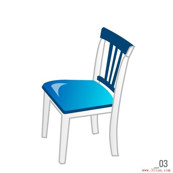 椅子产品手绘图马克笔