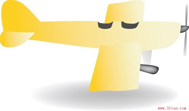 飞机玩具矢量图免费下载-千图网www.58pic.com