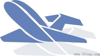 飞机图标矢量图免费下载-千图网www.58pic.com