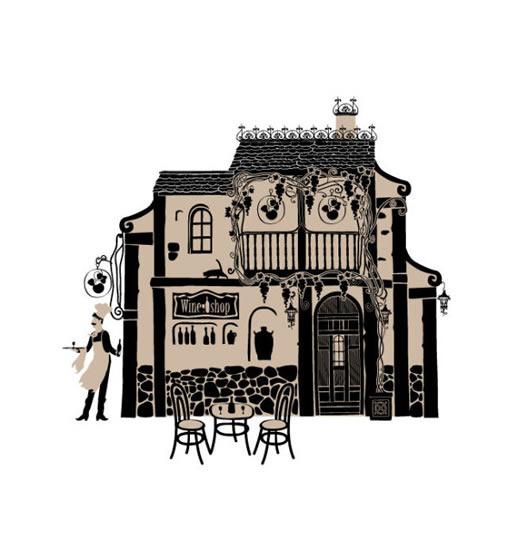 欧式建筑手绘稿