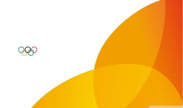简约橙色背景ppt模板