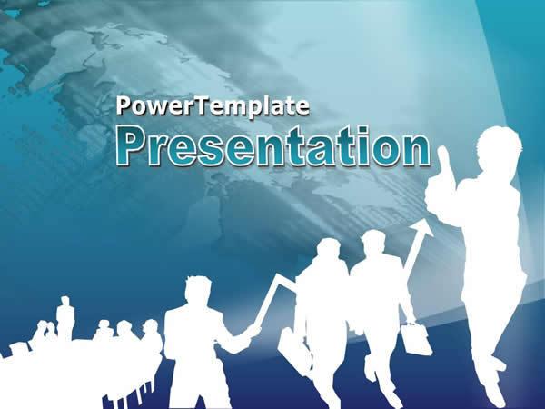 反白效果商业会议ppt模板ppt模板免费下载-千图网www