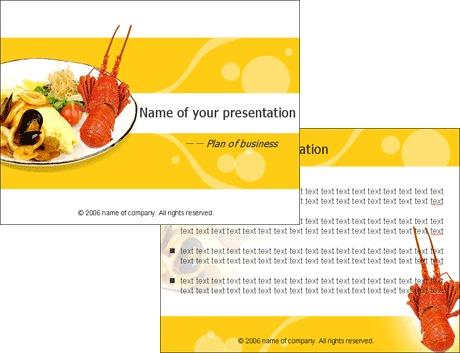 食品类ppt模板