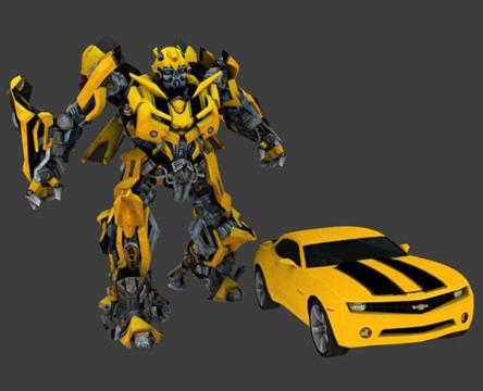 3d变形金刚大黄蜂模型