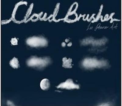 云朵创意ps笔刷