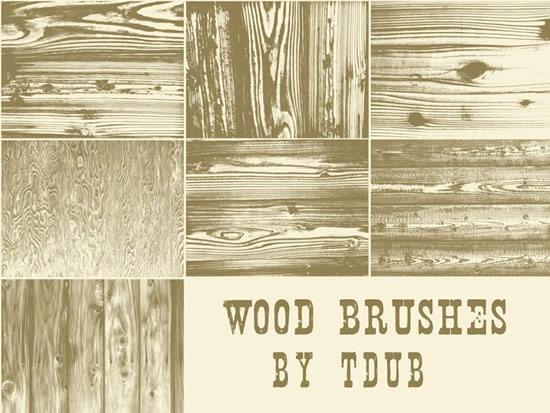 木纹背景ps笔刷