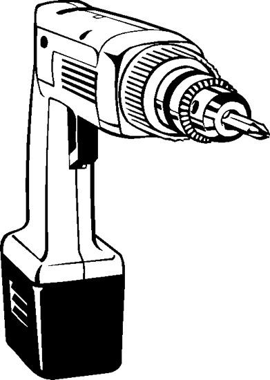 电钻创新设计手绘