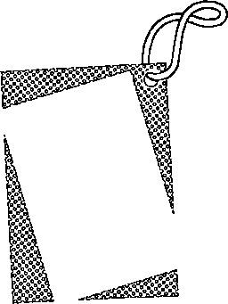 角边框剪纸 步骤