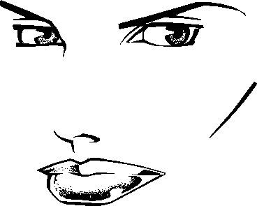 人物表情矢量图