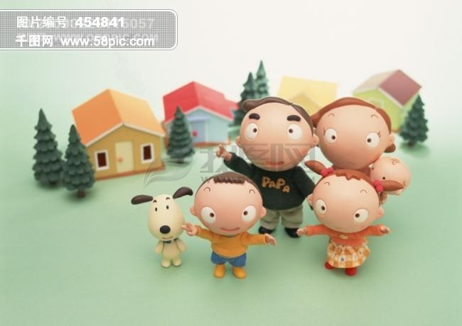 快乐家庭图片素材免费下载-千图网www.58pic.com