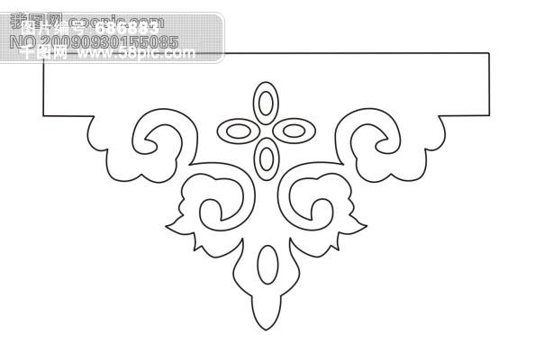 传统花卉图案 纹样图片素材免费下载-千图网www