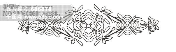 传统花卉图案 纹样