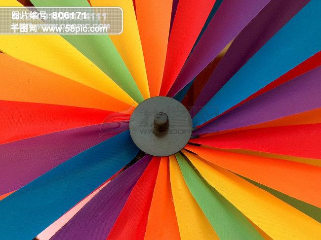 彩色风车 彩色图片