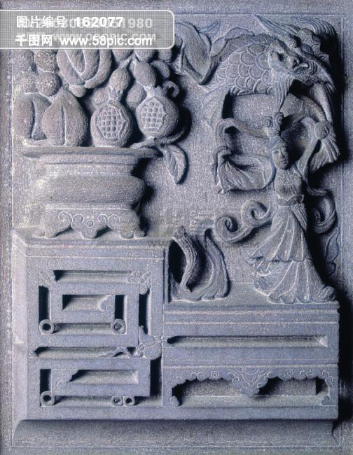 佛 佛教 信仰 艺术 工笔 门神 木雕 石雕 古建筑 图案 神话 石狮 壁画