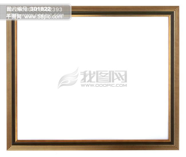 边框 框架 相框 方框 长方形 油画框 构造 广告素材大