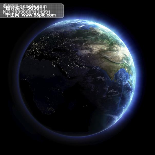 发光的地球图片素材图片素材免费下载 千图网