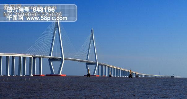 斜拉桥家居装饰素材免费下载-千图网www.58pic.com