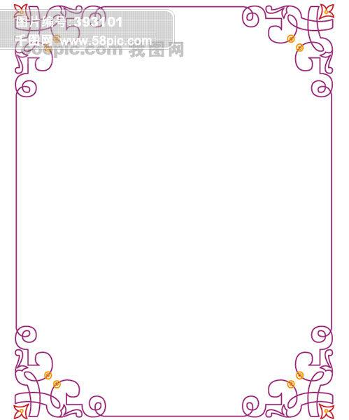 古典边框 古典花纹 欧式花纹 欧式边框 边框花纹 黑板报边框 花边图库