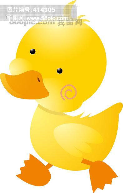 小鸭子装饰素材免费下载-千图网www.58pic.co