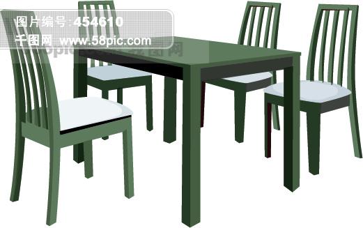 餐桌椅-精品图标