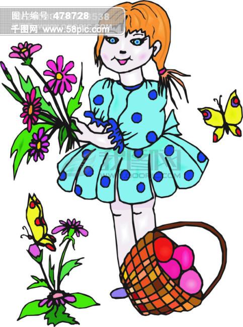 欧美儿童读物插画57