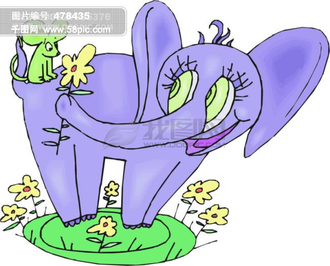 欧美儿童读物插画 3