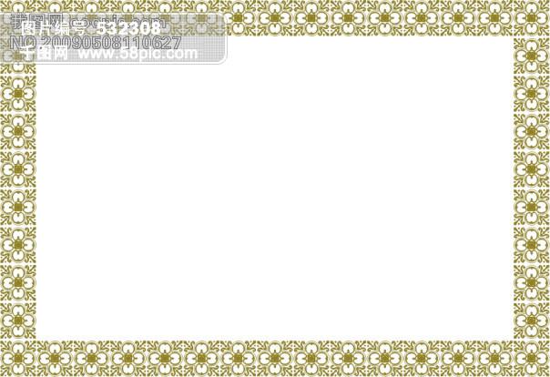 ppt 背景 背景图片 边框 模板 设计 相框 604_414