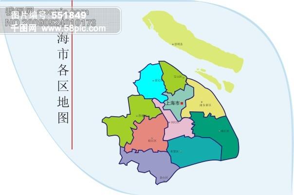 上海矢量地图