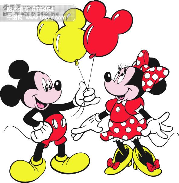 卡通米老鼠 矢量图 其他矢量图 卡通头像|卡通壁纸|卡通桌面