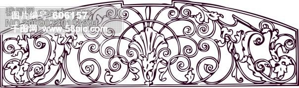 欧式柱子花纹