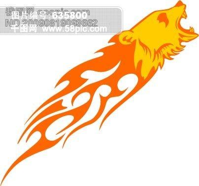 动物与火焰